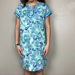 Vineyard Vines Cordia Floral Tunic Dress
